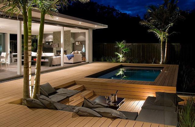 Well-known Decks em madeira e PVC dividem opiniões - Piscinas.com XE62