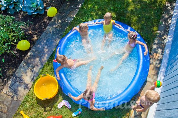 Como guardar corretamente uma piscina inflável