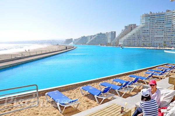 Recordes a maior piscina do mundo e a mais funda for Fundas para piscinas