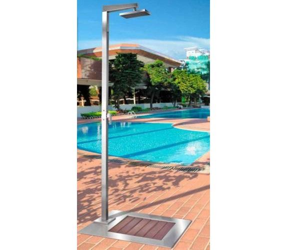 Entenda a import ncia das duchas para piscinas for Modelos de mamparas para duchas