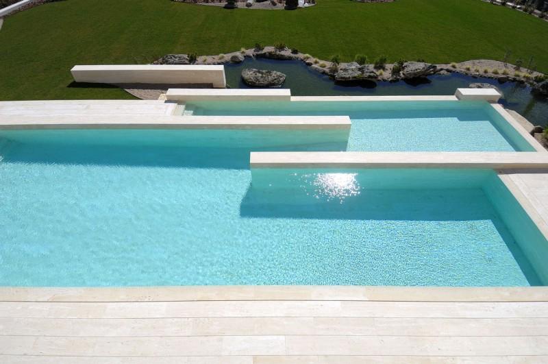 Revestimentos diferenciados para piscinas for Piletas modernas