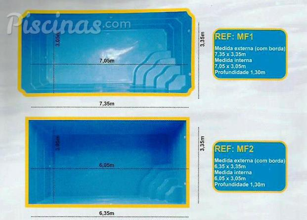 Fotos de fast service piscinas for Medidas piscina casa