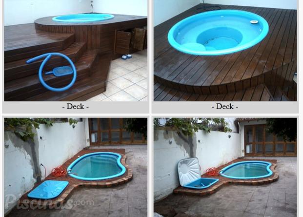 Pedra redonda piscinas - Piscina redonda fibra ...