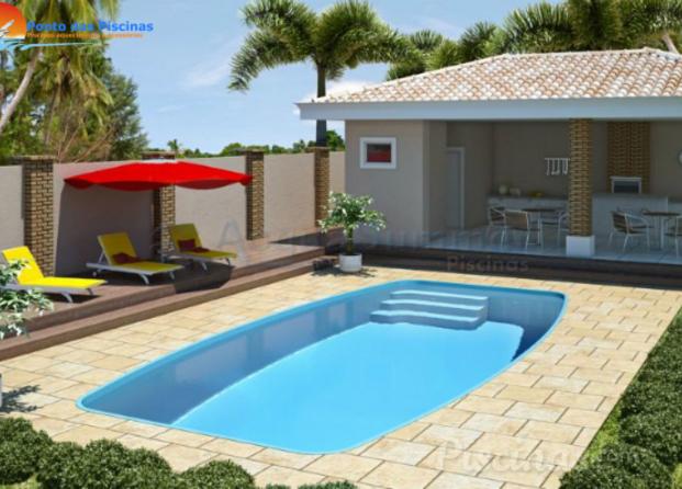 Fotos de ponto das piscinas for Piscina fibra em l